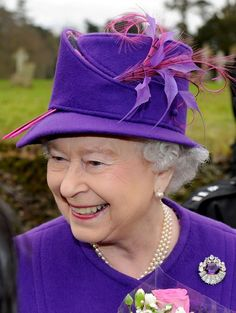 Hat Designer: An early version of Angela Kelly's split crown design.