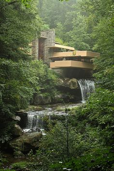 Frank Lloyd Wright's Falling water.