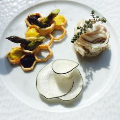 Avignon Cook Designers project Bee inspired fish dish