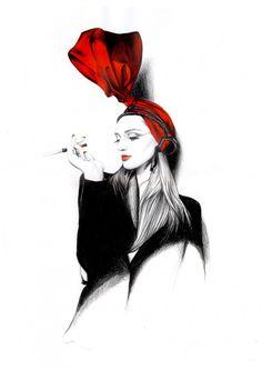Slovakian illustrator Caroline Andrieu
