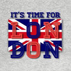 Check out this awesome 'Time+for+London' design on @TeePublic!