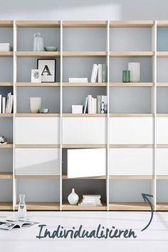 Wohnwand für das Wohnzimmer – einfach individualisieren!