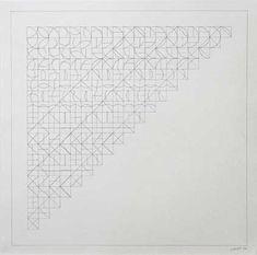 Arcs and Lines 1 Sol Lewitt