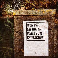 Ein guter Platz zum Knutschen in #Leipzig