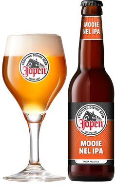 Jopen - Mooie Nel IPA, Brouwerij Jopen, Haarlem, Nederland.  Eigen beoordeling 8,5
