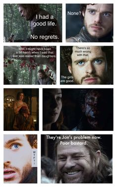 Game of Thrones - The Stark men know nothing. funny memes