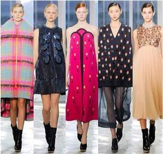 New York Fashion Week Fall 2014 Recap Day 4: Brighter Colors, Bolder Prints #fashion #nyfw #mbfw #trends