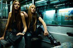 Subway u49 - Backstage on Fashionshoot with Edgar Berg                                                                                                                                                     More