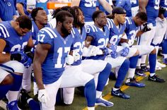White Christians who are upset at NFL players who choose to protest during  the playing of the national anthem are showing that they re more
