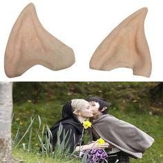 Latex Fairy Pixie Elf Ears Halloween Accessory