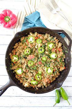 Dirty Cauliflower Rice (GF + Paleo)