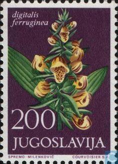 1965 Yugoslavia - Flora