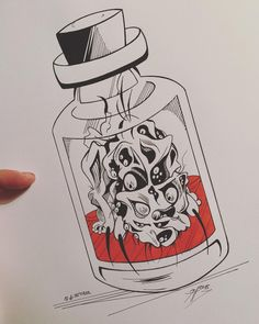 This time with something everyone want to shut down in a bottle. Even in a small dose. Bloodborne Art, Dark Souls, Traditional Art, Inktober, Sony, Creepy, 18th, Fanart, Horror