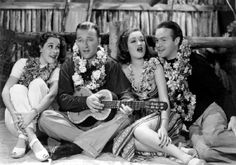 Judith Barrett, Bing Crosby, Dorothy Lamour, Bob Hope -  Road to Singapore 1940