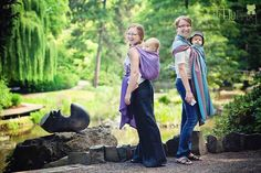 Little Frog - woven wraps for babywearing, inexpensive!