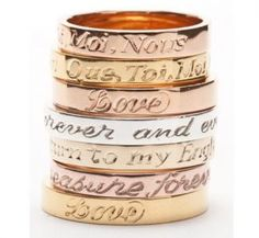 Laura Lee Engraved Band Ring