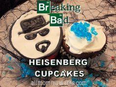 Breaking Bad #Heisenberg #Cupcakes