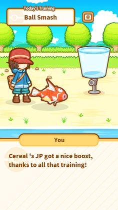 Just keep jumping, Cereal ! #Magikarp http://koiking.jp/r/