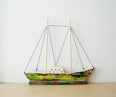 What about sailing away from here? by Gioconda Pieracci on Etsy