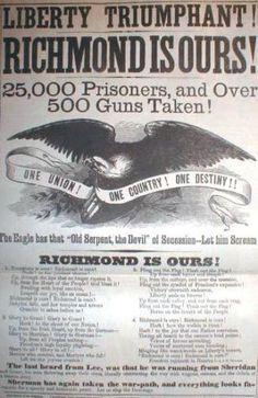 Awesome headline of 1865 !