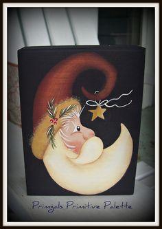 Primitive Santa Moon