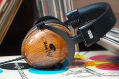 Urban Vinyl Wood Headphones