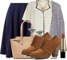 Work Fashion, Fashion Outfits, Professional Attire, Mom Style, Pleated Skirt, Oxford Shoes, Pll, Blouse, Skirts