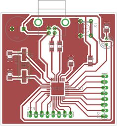 Microcontroller Tutorial Creating a Microcontroller Circuit Board - Build Electronic Circuits Electronics Projects, Arduino Projects, Diy Electronics, Circuit Board Tattoo, Circuit Board Design, Electronic Circuit Design, Electronic Engineering, Electrical Engineering, Electronic Gifts For Men
