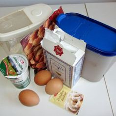 Kakao Sauerrahm Becherkuchen Rezept mit Fotos Kakao, Food And Drink, Container, Desserts, Drinks, Recipes, Chocolate Pies, Kid Recipes, Drinking