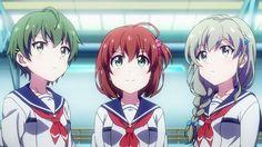 Tema principal fecha estreno y nueva imagen promocional para Battle Girl High School