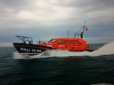 New Shannon boat off Dorset 2014 at full power