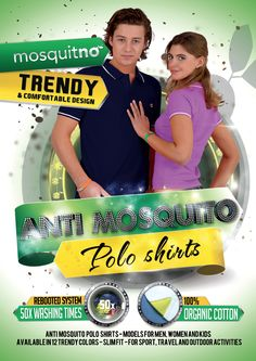 Anti-mosquito Polo Shirts