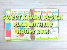 Sweet Kawaii Design - Plan With Me - Honey Bee
