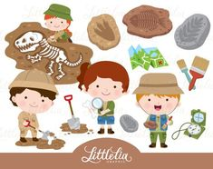Cute Digital Clipart and DIY printable by LittleLiaGraphic on Etsy Archaeology For Kids, Nativity Clipart, Invitation Fete, Baby Girl Clipart, Clip Art, Christmas Clipart, Illustration Girl, Scrapbooking, Fun Projects
