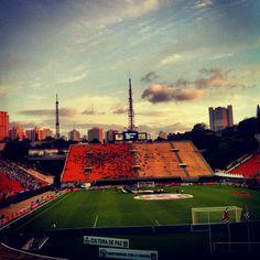 Pacaembu soccer stadium