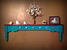 Another footboard shelf I made