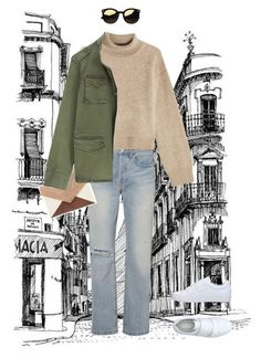 """""""Untitled #58"""" by teaangelika on Polyvore featuring RE/DONE, Vagabond, Rejina Pyo and Anine Bing"""