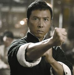 Donnie Yen-甄子丹 Official shared Mike Leeder's photo.   Special thanks to Mr. Mike Leeder for this classic interview and his contributions to HK action cinema!