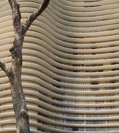 Niemeyer: este edificio fue construido en Belo Horizonte, donde estudié yo en los años 70s, recuerdos inolvidables, saudades memoráveis de amor total.