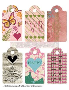 Romantic Gift Tags - 3