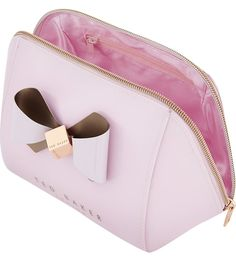 1f6cbf065d32 TED BAKER Rochel bow extra large toiletry bag