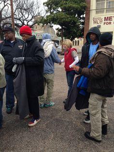 Feeding and clothing homeless Waco Tx