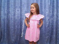 Летнее платье (сарафан) для девочки