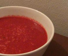 Rezept Rote Beete Kokossuppe von Smebi - Rezept der Kategorie Suppen