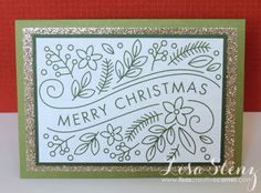Lisa's Creative Corner: Picture My Life 'Merry Christmas' Card