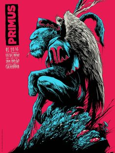 Primus Poster Series - San Diego Night 2 by Ken Taylor Poster Design Inspiration, Design Poster, Art Design, Art And Illustration, Illustrations Posters, Omg Posters, Band Posters, Ideas Collage, Kunst Poster