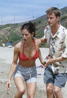 "The One With The Jellyfish ~ Monica gets stung by a Jellyfish and Chandler had to pee on Monica to relieve the pain. (Joey tried but couldn't get ""little Joey"" to cooperate)"