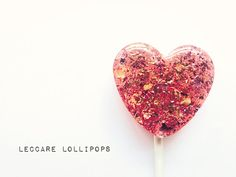 Love is Sweet - Happy Valentine's Day Gift Box // 18 Rose and by LeccareLollipops
