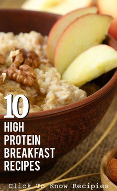 10 High Protein Breakfast Recipes