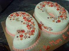 90th Birthday Cake by Dawnie's cakes, via Flickr